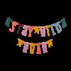 A lovely little Company letter banner Boho Chic