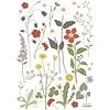 Lilipinso muursticker kinderkamer bloemen Country Side