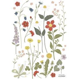Lilipinso Lilipinso muursticker bloemen Country Side