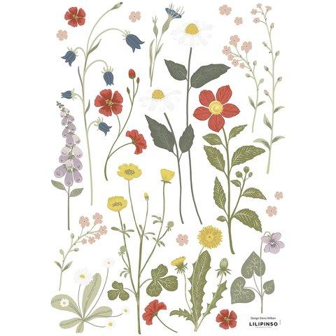 Lilipinso muursticker bloemen Country Side