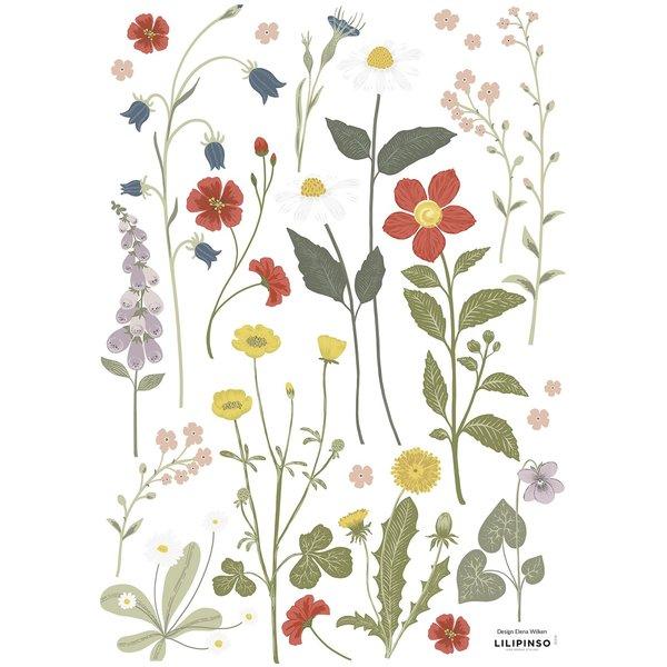 Lilipinso Lilipinso muursticker kinderkamer bloemen Country Side