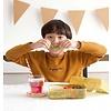 A Lovely Little Company lunchbox glitter goud