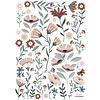 Lilipinso muursticker kinderkamer Ocean Flowers