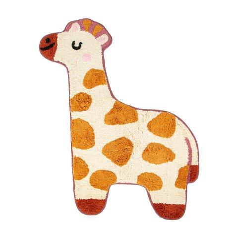 Kindervloerkleed mini giraffe