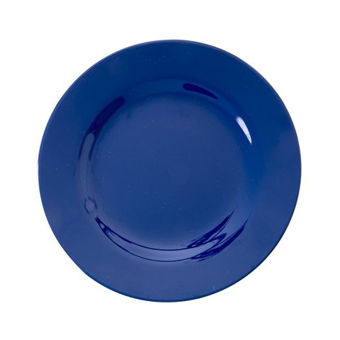 Rice melamine bordblauw Navy Blue
