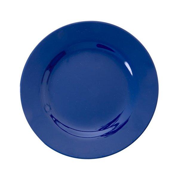 rice Denmark Rice melamine lunchbord blauw Navy Blue