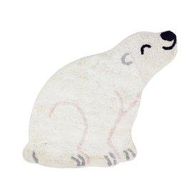 Sass & Belle Sass & Belle kindervloerkleed  ijsbeer mini