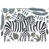 Lilipinso muursticker kinderkamer zebra's Tanzania
