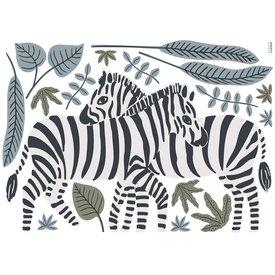 Lilipinso Lilipinso muursticker zebra's