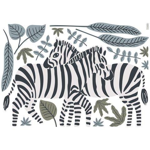 Lilipinso muursticker zebra's