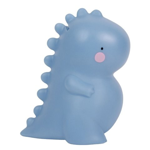 A Lovely Little Company spaarpot dino blauw