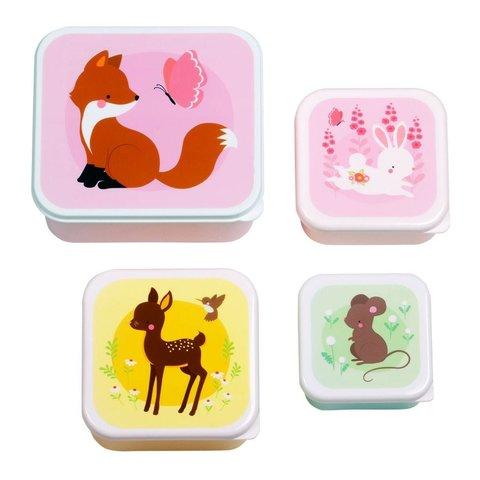 A Lovely Little Company snackboxen bosdieren