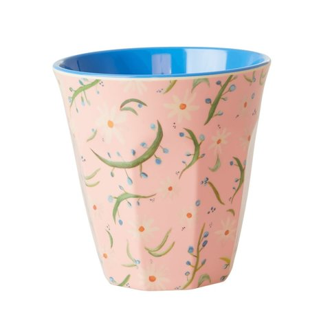 Rice melamine beker bloemen Delightful Daisies print