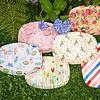 Rice melamine bord ovaal Summer Flowers print