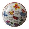 La Finesse kastknopje bloemen en vlinders