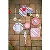 Rice melamine lepels strepen Candy Stripes lang