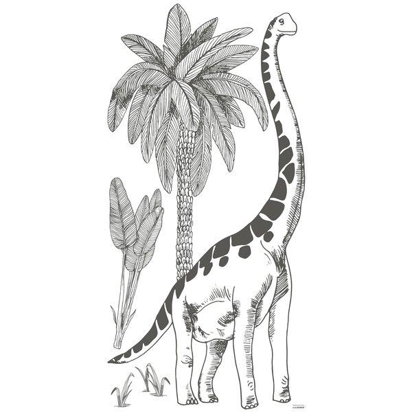 Lilipinso Lilipinso muursticker kinderkamer brontosaurus XL