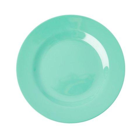 Rice melamine bord emerald groen