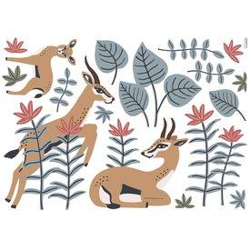 Lilipinso Lilipinso muursticker gazellen