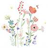 Mimilou muursticker bloemen Fleurs des Champs XL
