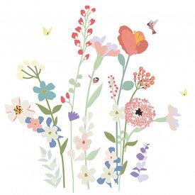 Mimi'lou Mimilou muursticker bloemen  XL