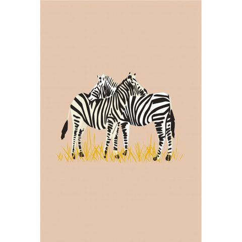Mimilou poster kinderkamer zebra