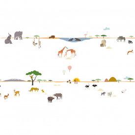 Mimi'lou Mimilou muursticker frise safari