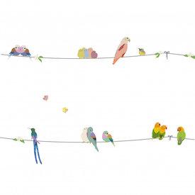 Mimi'lou Mimilou muursticker vogels With the Birds