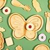 Sass & Belle kinderbord bamboe vlinder