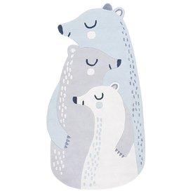 Lilipinso Lilipinso kindervloerkleed ijsberen