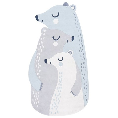 Lilipinso kindervloerkleed ijsberen