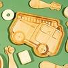 Sass & Belle kinderbord bamboebrandweer auto