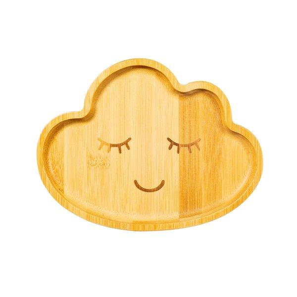 Sass & Belle Sass & Belle kinderbord bamboe wolk