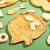 Sass & Belle kinderbord bamboe egel