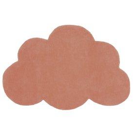 Lilipinso Lilipinso kindervloerkleed wolk  Terracotta