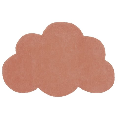Lilipinso kindervloerkleed wolk  Terracotta
