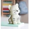 A Lovely Little Company nachtlampje tijger grijs