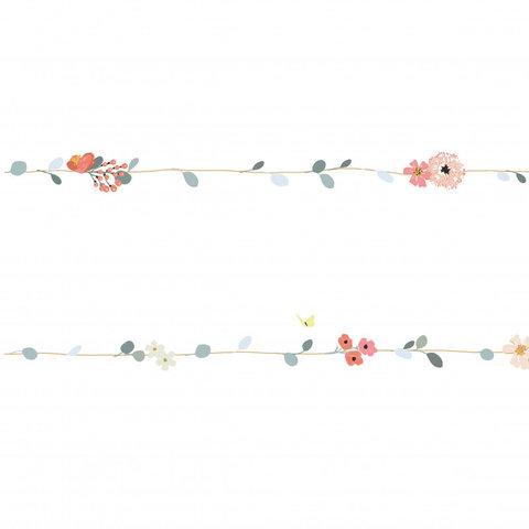 Mimilou muursticker bloemen Frise Nils
