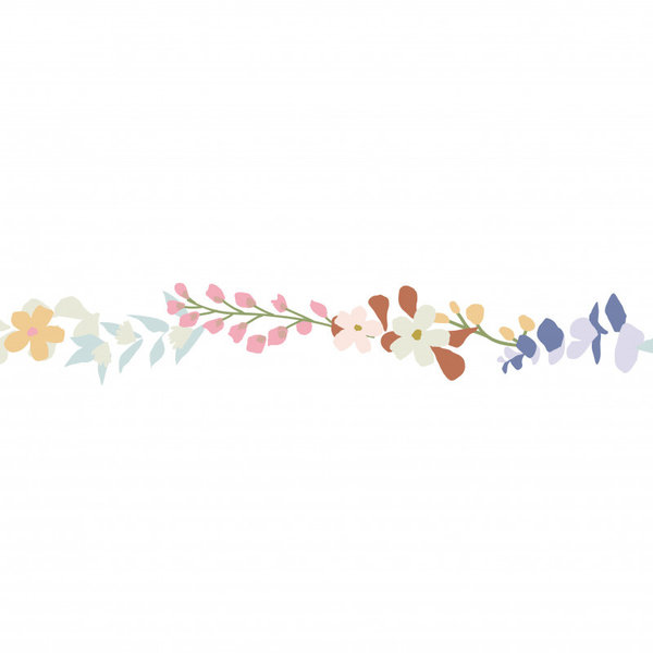 Mimi'lou Mimilou muursticker bloemen Frise  Liv