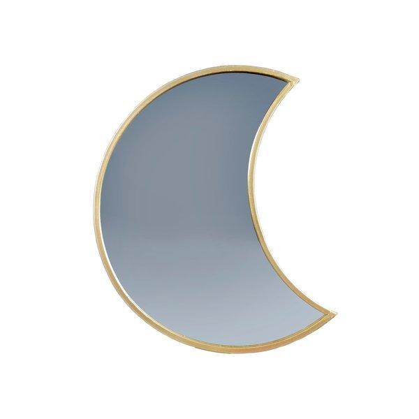 Sass & Belle Sass & Belle spiegel goud maan