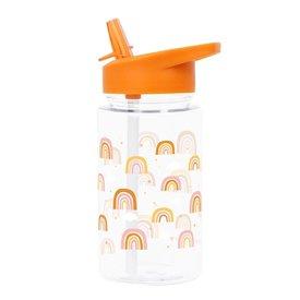 A Lovely Little Company A Lovely Little Company drinkfles regenboog