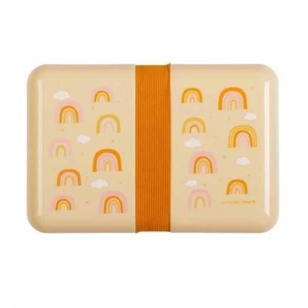 A Lovely Little Company A Lovely Little Company lunchbox  regenboog