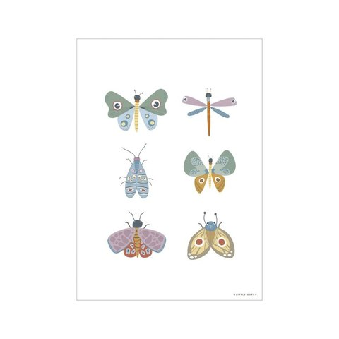 Little Dutch poster vlinders Butterfly