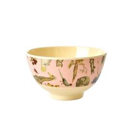 rice Denmark Rice melamine schaaltje Art print roze klein