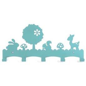 Eina Design Kinderkapstok woodland turquoise