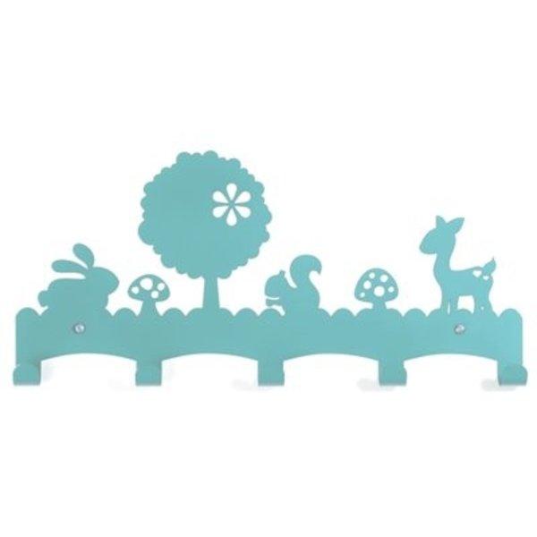 Eina Design Eina Design kinderkapstok woodland turuoise