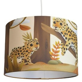 Land of Kids Land of Kids kinderlamp luipaard Dae