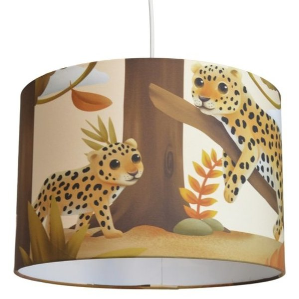 Land of Kids Land of Kids hanglamp kinderkamer luipaard Dae