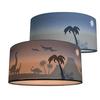 Land of Kids plafond lamp silhouette dino's blauw