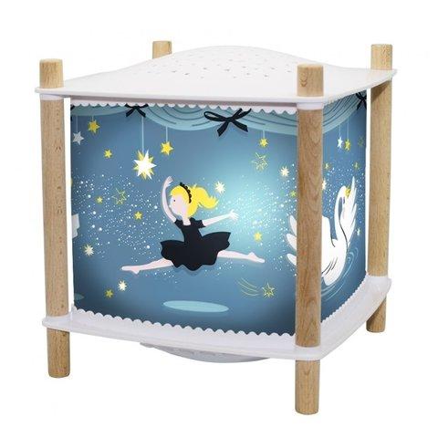 Trousselier magische lamp ballerina Revolution 2.0  blauw